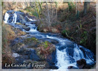 Cascade d'Espont Club photos Beynat